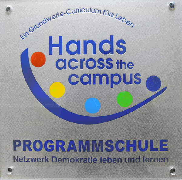 Hands across the Campus Logo